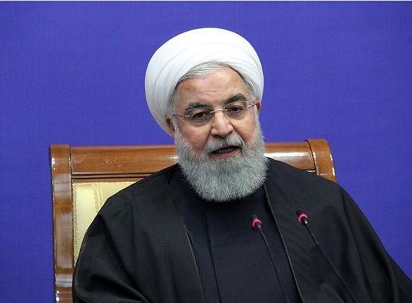 روحانی: سپاه مدافع آزادی و امنیت در منطقه است