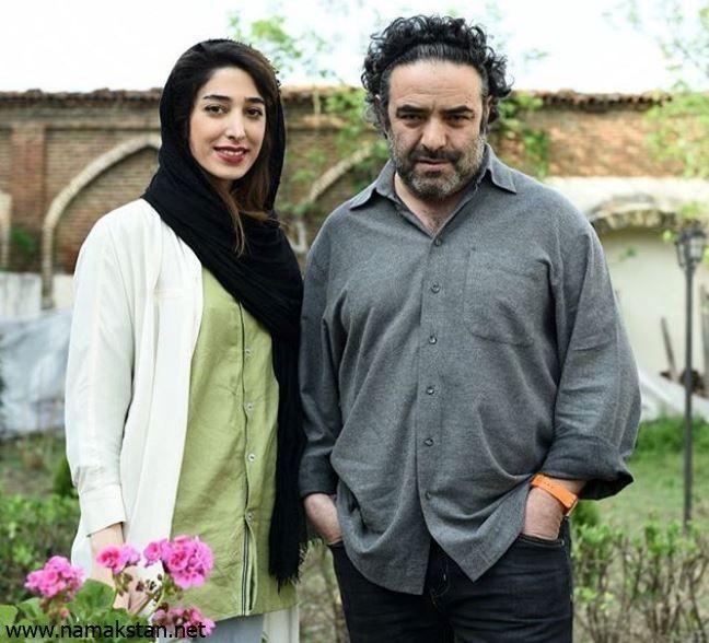 عکس حسن معجونی و همسرش