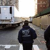 کرونا | استفاده از کامیون یخچالدار برای حمل اجساد قربانیان کرونا در نیویورک