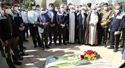 آیین با شکوه گرامیداشت هفته دفاع مقدس در ذوب آهن اصفهان