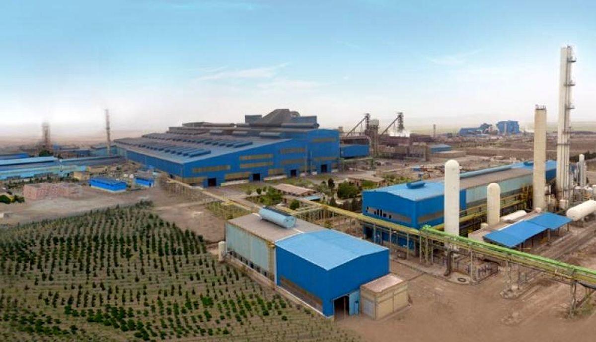 تحریم ها مانع رشد تولیدات مجتمع فولاد خراسان نشده است