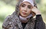 خداحافظی شبنم قلی خانی با سریال بیگانه ای با من است + عکس