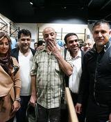 کری خوانی جنجالی ستاره های سینما برای دربی استقلال و پرسپولیس + عکس