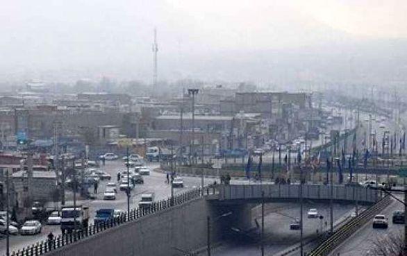 افزایش آلودگی هوا در شهرهای صنعتی تا روز دوشنبه