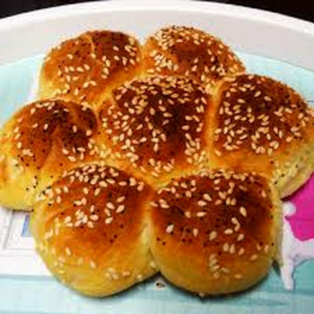 آموزش و طرز تهیه نان شیرمال