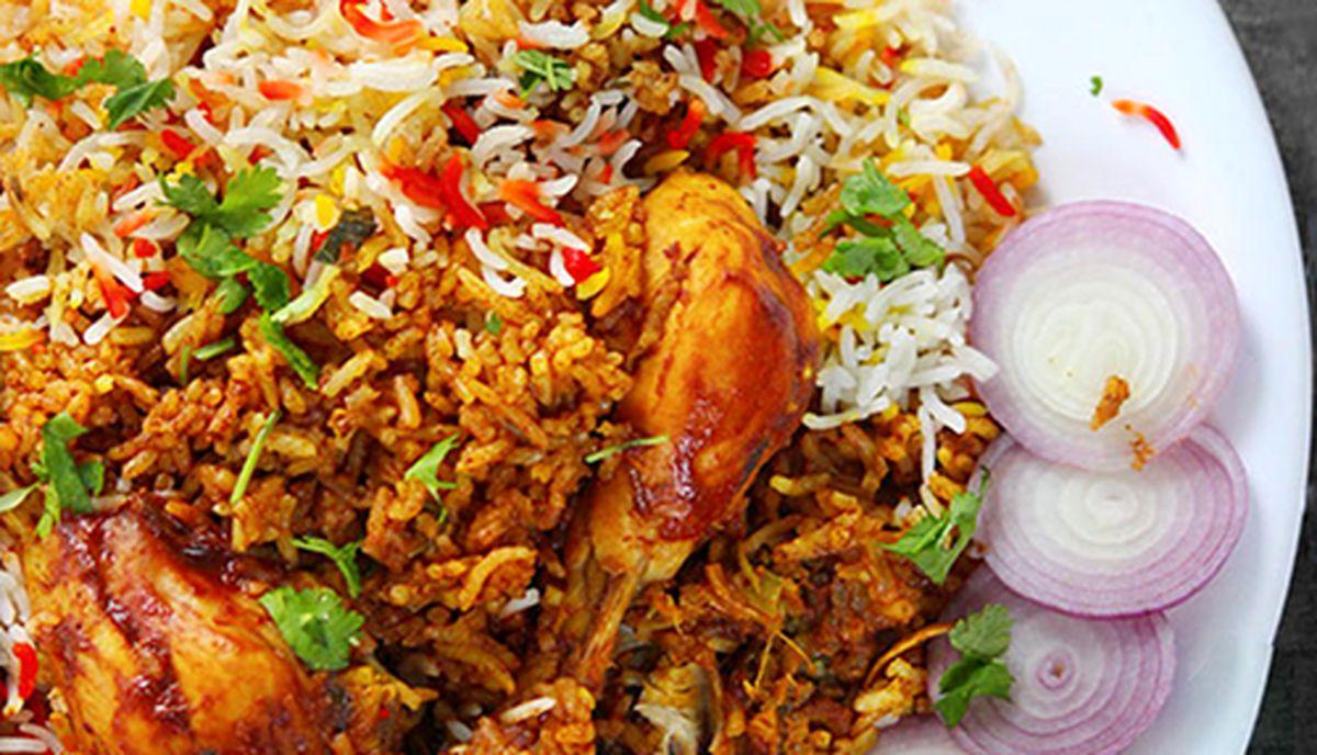 طرز تهیه مرغ بریانی هندی +عکس