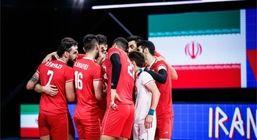 زمان دیدار تیم ملی والیبال ایران و فرانسه