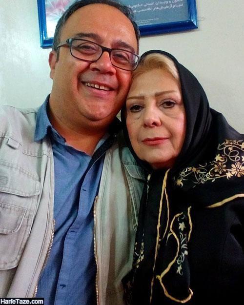 عکس مادر علی ابوالحسنی بازیگر