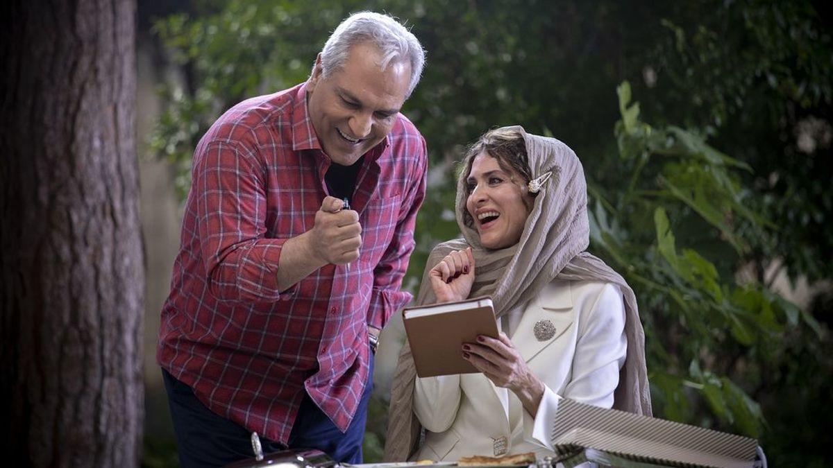 رقص پشت فرمونی همسر مهران مدیری در سریال دراکولا | عکسهای مهران مدیری و ویشکا آسایش