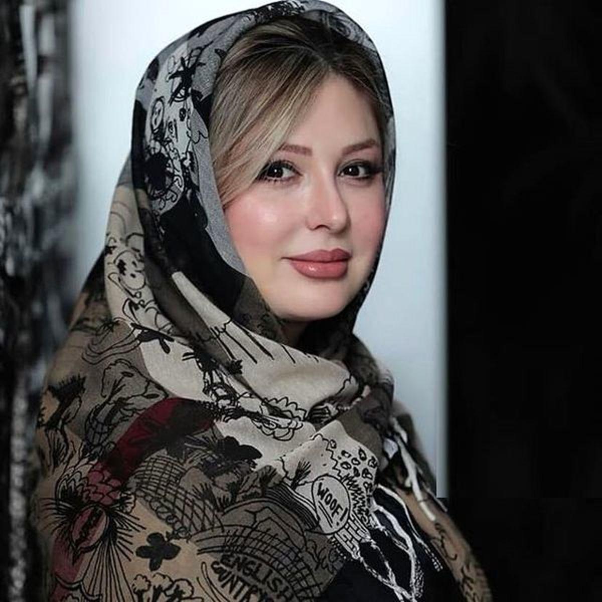 نیوشا ضیغمی بازیگر معروف خواننده شد + فیلم جذاب