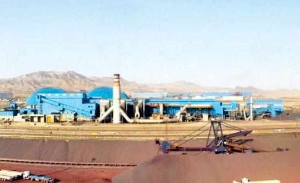 تولید در گندله سازی سنگان از ظرفیت اسمی کارخانه گذشت