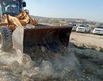 رفع تصرف ۲۷ هزار متر مربع از اراضی ملی و دولتی واقع در خارج از محدوده طرح هادی روستای دفاری قشم