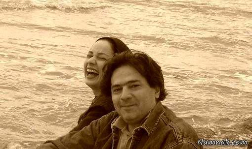 نسرین نصرتی و همسرش