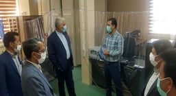 بازدید مدیر کل تامین اجتماعی استان کرمان از شعبه کوهبنان