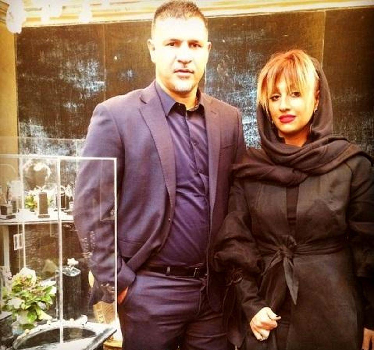 دورهمی علی دایی و همسر میلیاردش در رستوران مجلل غوغا به پاکرد + عکس