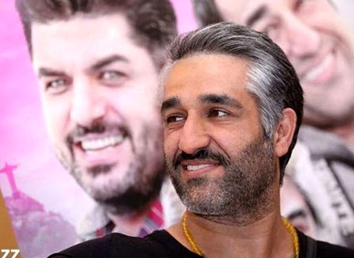 چهره ی سینمایی پژمان جمشیدی که همه را متعجب کرد+عکس