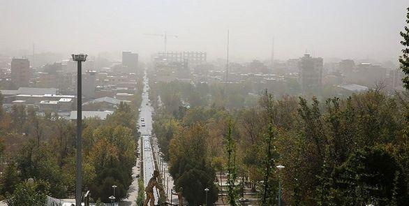 علت اصلی آلودگی هوای تهران پدیده بین قاره ای است