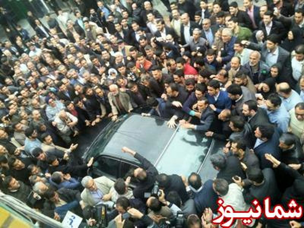 حاشیه های سفر احمدی نژاد به ملارد