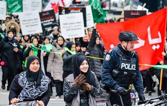 راهپیمایی اربعین در کانادا/ تصاویر