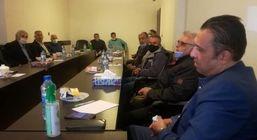 نشست ورزش های زورخانه ای و پهلوانی استان تهران به حمایت از ایت الله رییسی