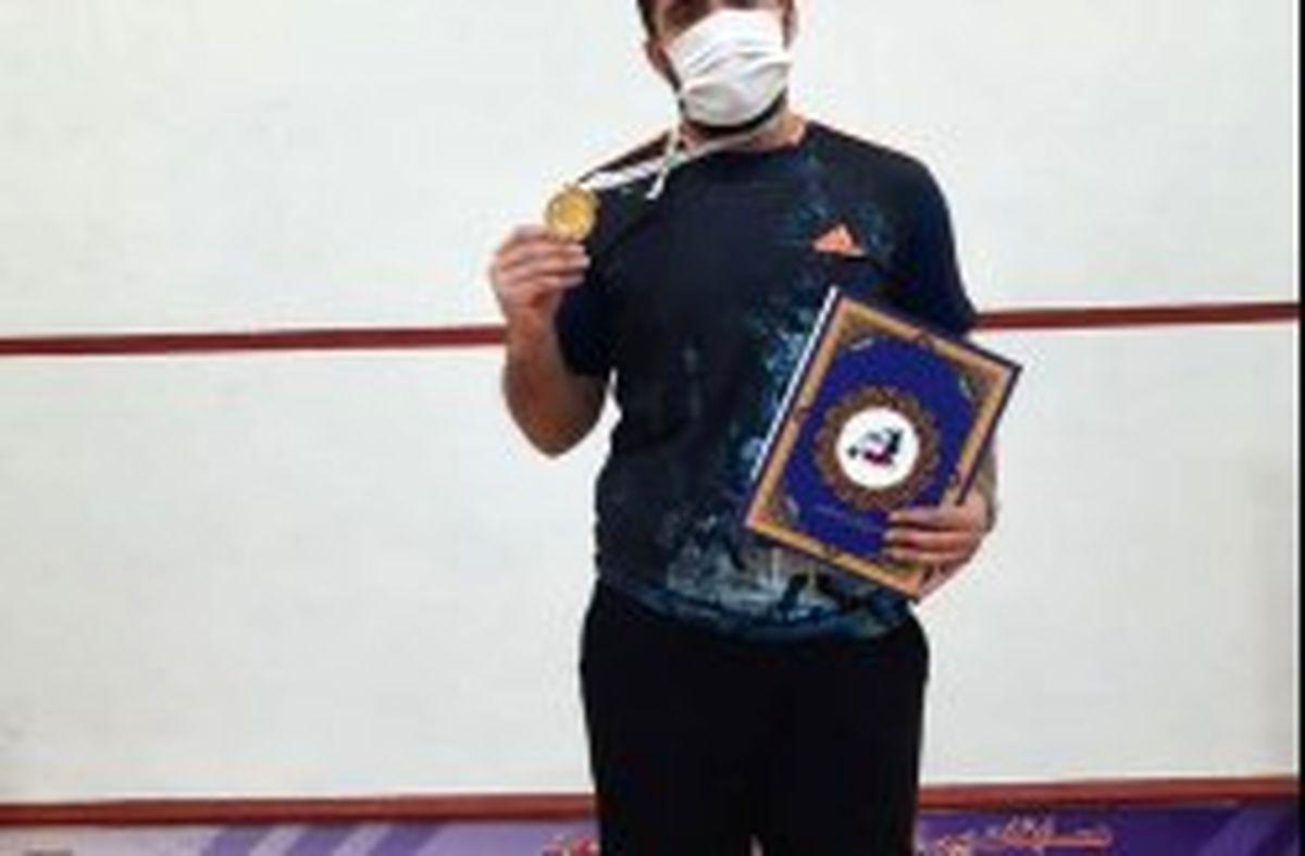 اسکواش باز کیش قهرمان مسابقات رنکینگ جهانی شد