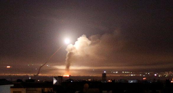 ارتش رژیم صهیونیستی به سوریه حمله کرد