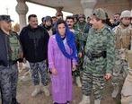 دستگیری داعشیهای ترسو با ریش تراشیده و لباس زنانه +تصویر