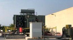 بهره برداری از ترانس قدرت در نیروگاه آب و نیروی ماهتاب کیش