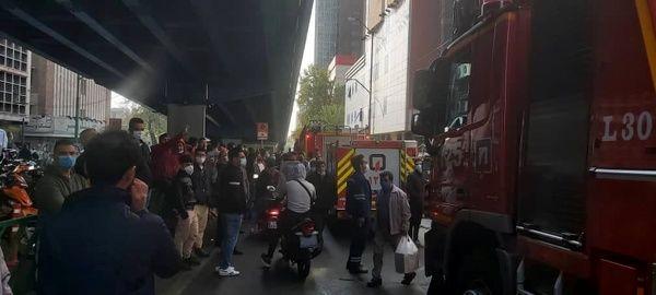 آتشسوزی در پاساژ علاءالدین + شمانیوز