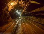 معدن زیرزمینی انگوران به نوارنقاله 1100 متری مجهز شد