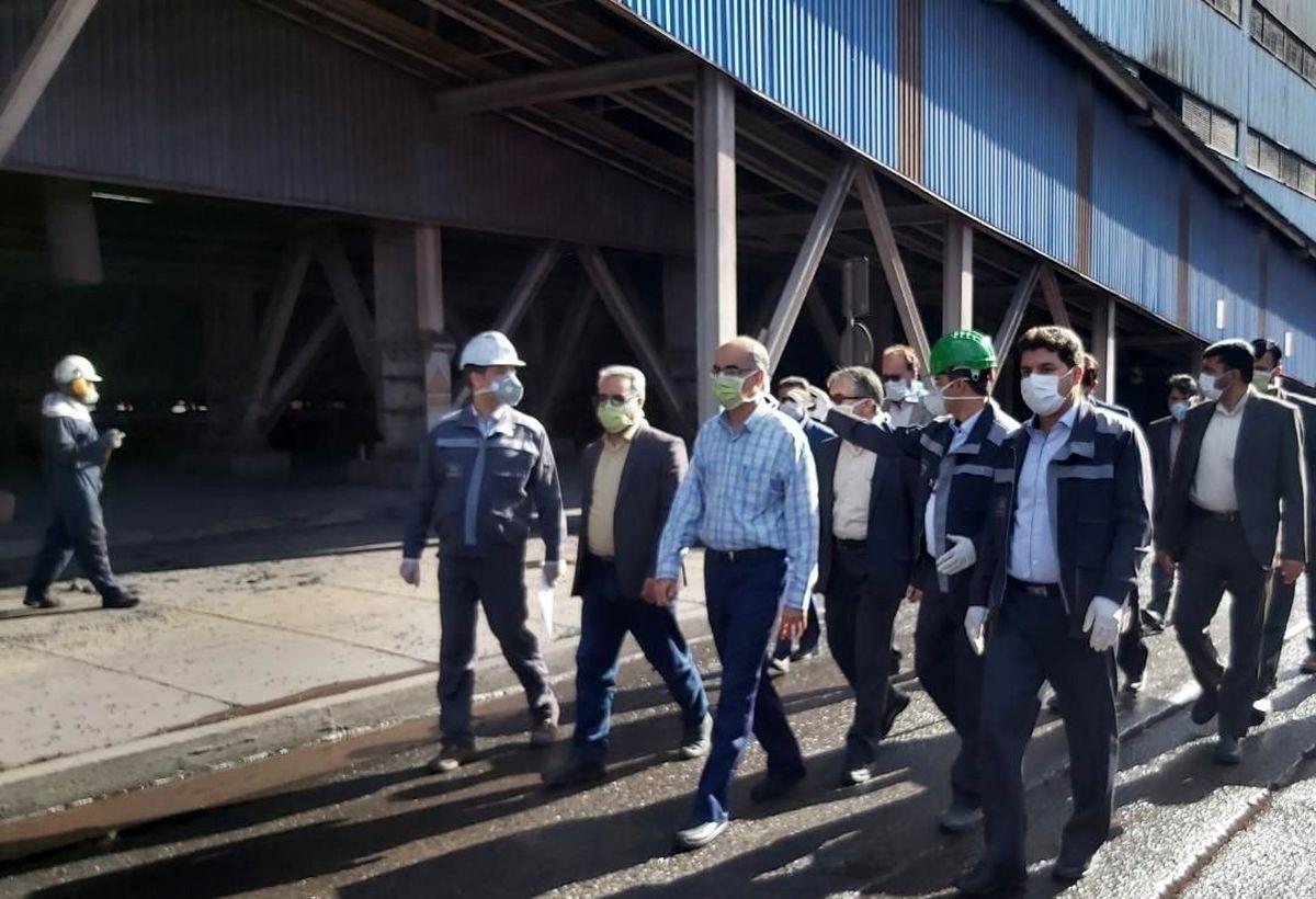 رضایت بازرس ویژه ستاد مدیریت کرونا استان کرمان از اقدامات انجام شده درخصوص پیشگیری از شیوع کرونا در منطقه گلگهر