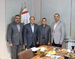 مراسم معارفه مدیرجدید بانک صنعت و معدن در استان مرکزی برگزار شد