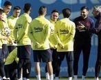 تغذیه سفت و سخت بازیکنان بارسلونا