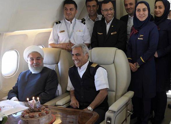 جشن تولد حسن روحانی + تصاویر