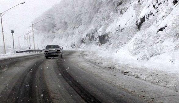 بارش برف در چهارمحال و بختیاری