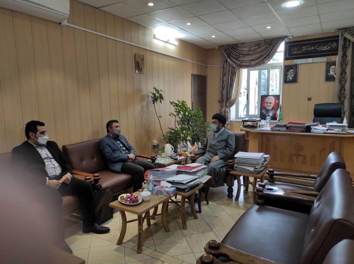 قدردانی رییس کل دادگستری استان فارس از بیمه ایران