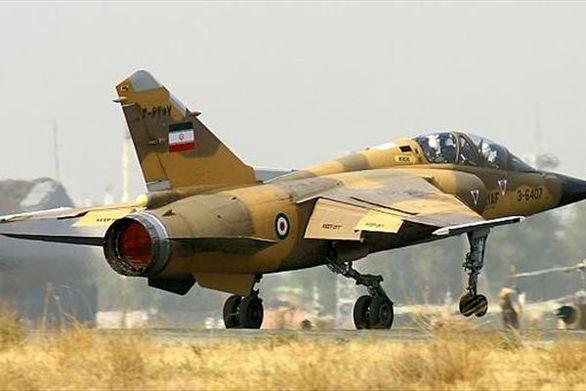جنگنده های ارتش به پرواز درامدند