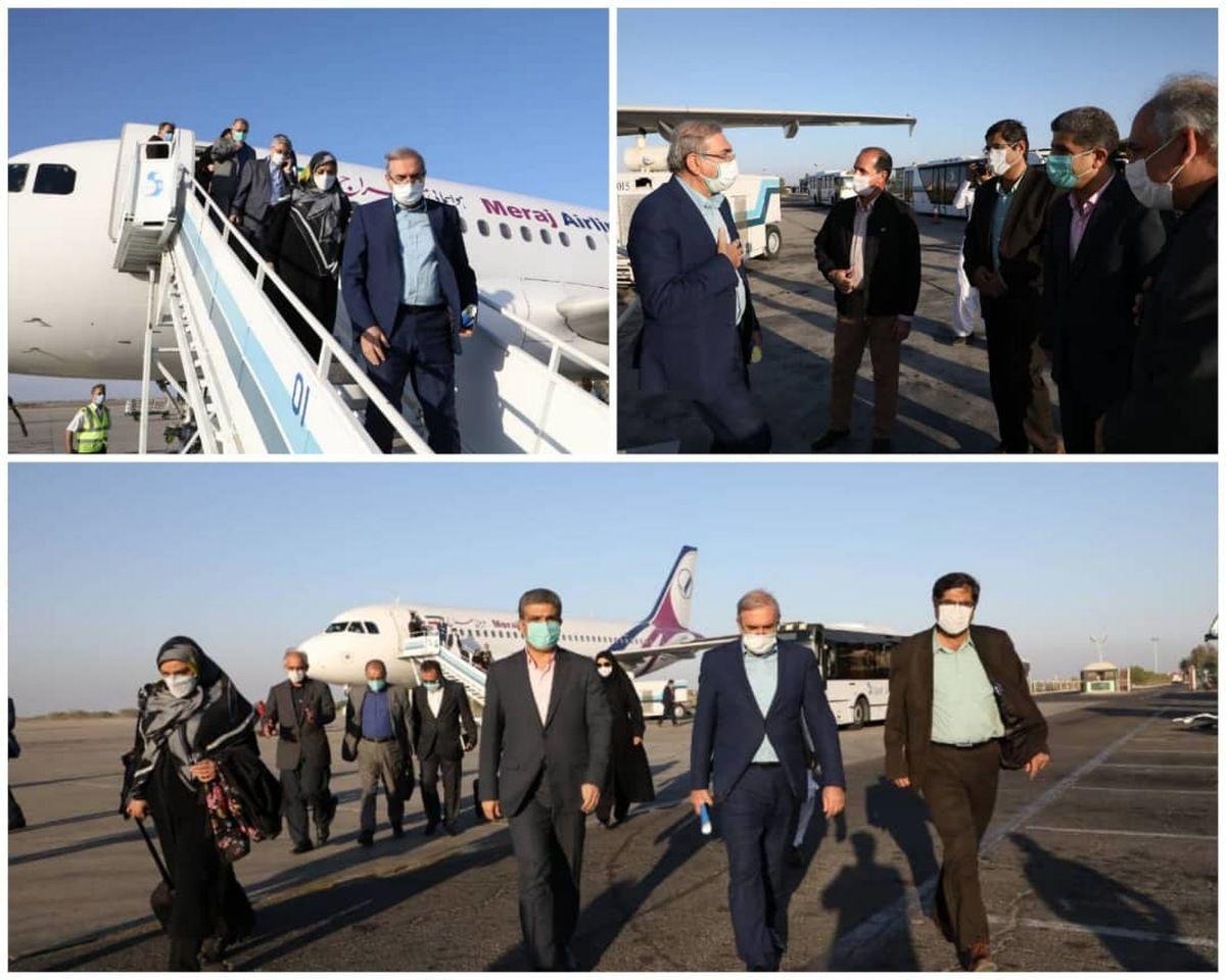 مشاور رییس جمهور به منطقه آزاد چابهار سفر کرد