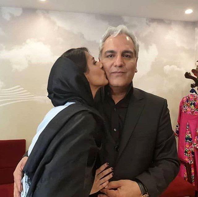 عکس لورفته بازیگر زن ایرانی در آغوش مهران مدیری + تصاویر جنجالی و بیوگرافی