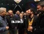 رامبد جوان، مهران مدیری و پژمان بازغی  در کنار هم + عکس