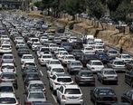 جادههای ورودی تهران ترافیک دارند