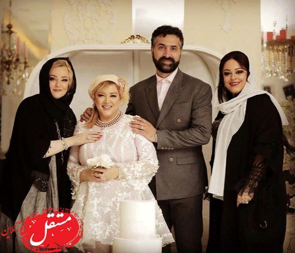 عکس دیده نشده از نعیمه نظام دوست در سالگرد ازدواج بهاره رهنما ...