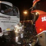 تصادف زنجیره ای در جنوب تهران + آمار مصدومین