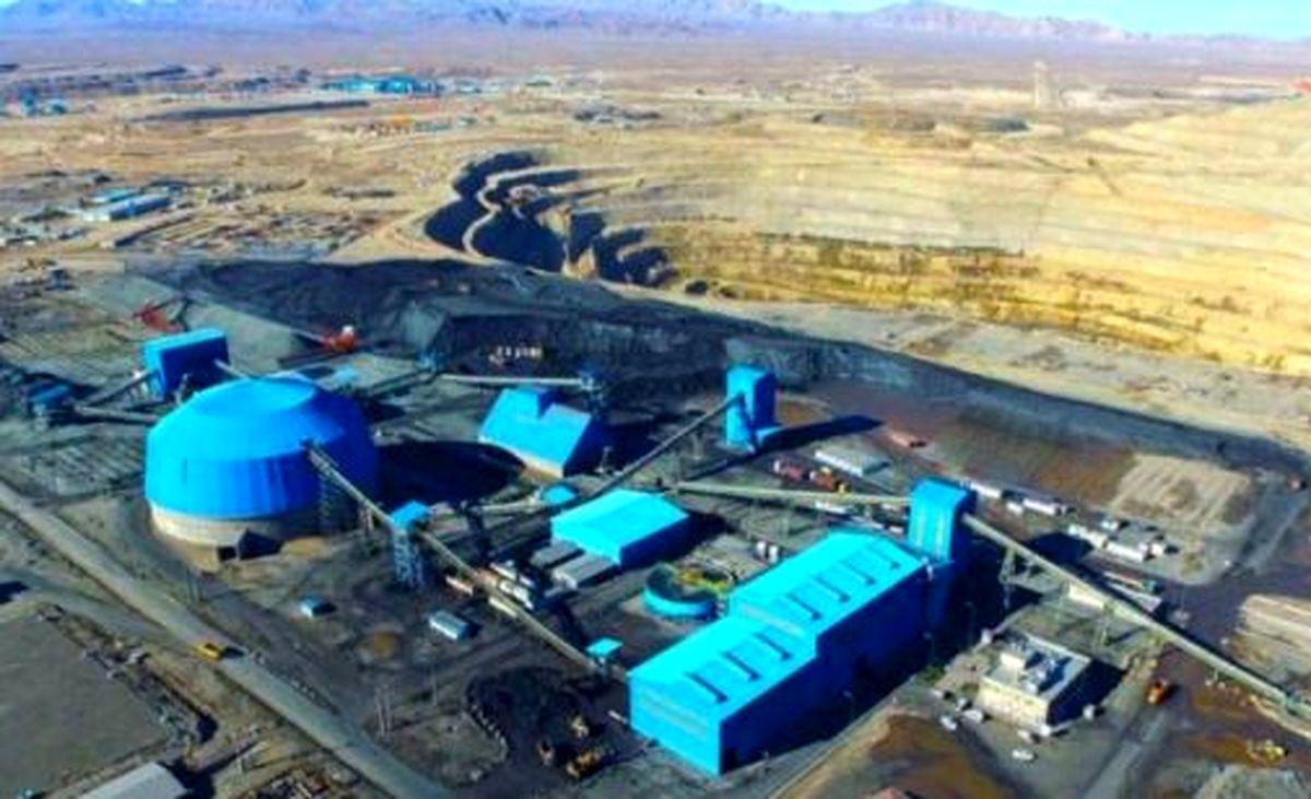رشد ۴ درصدی تولید کنسانتره آهن شرکت های بزرگ