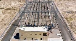 خط برق 4کیلومتری فولاد قائنات  برقدارو 35 کیلومتر فیبر نوری دراین مجتمع انجام شد