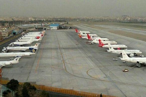 تمهیدات ترافیکی فرودگاه مهرآباد در ۲۲ بهمن