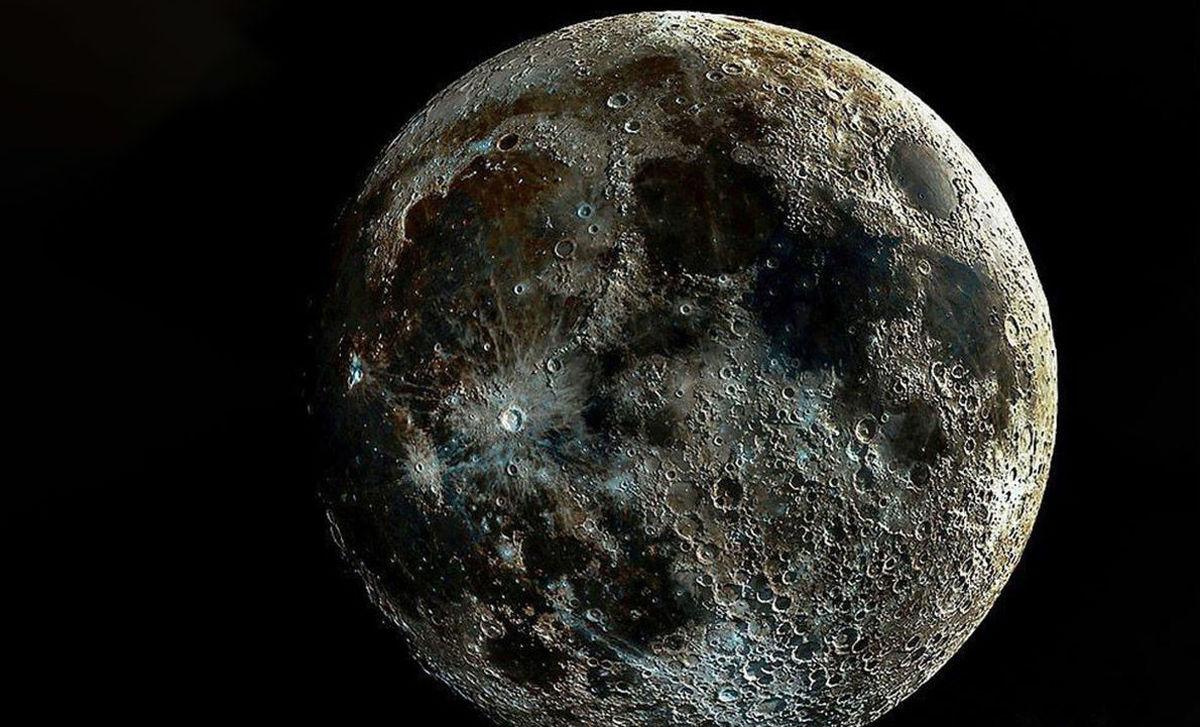 نزدیکترین عکس منتشر شده از ماه از نگاه انسان + عکس