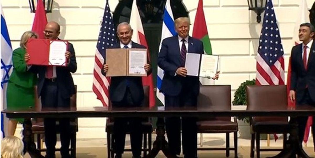 توافق سازش بین اسرائیل و دو کشور عربی امضا شد