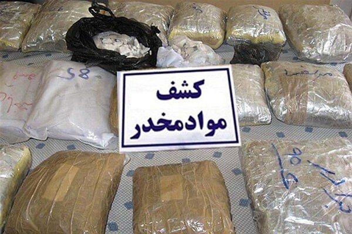 کشف ۱۲۷ کیلو شیشه در فارس