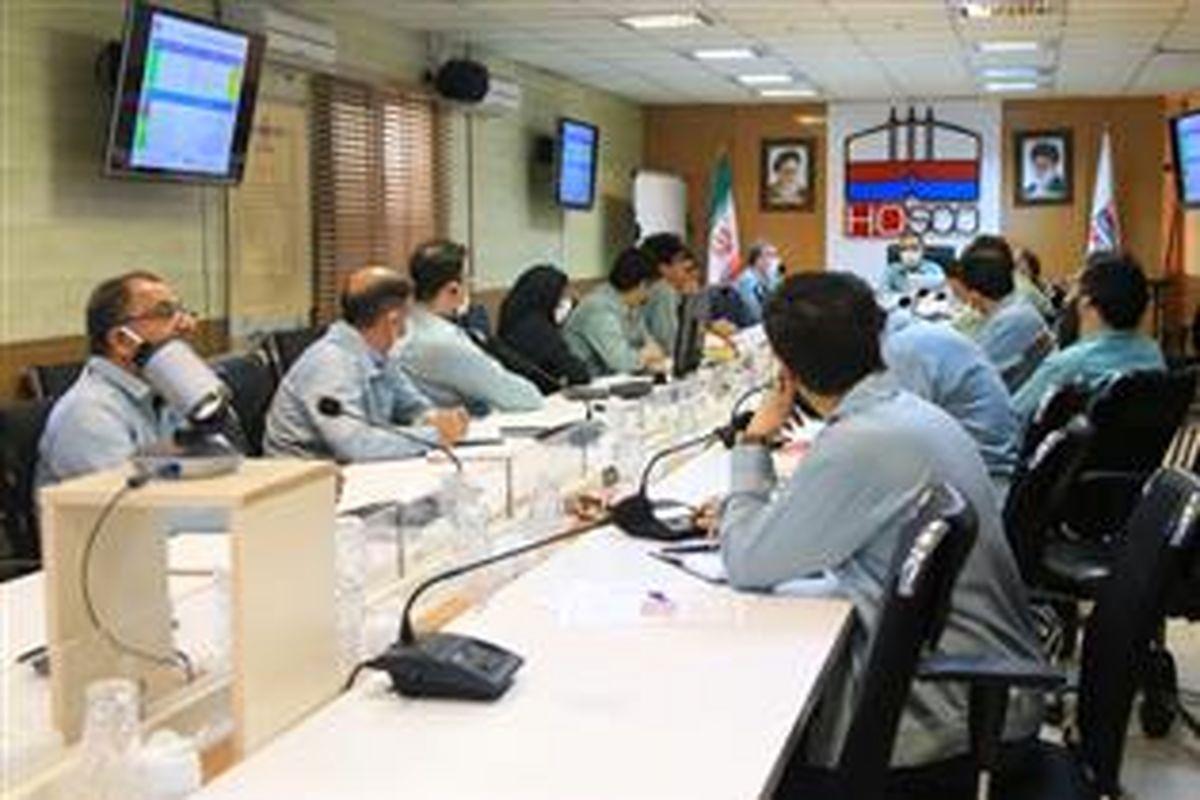 برگزاری جلسه کمیته عالی تحول شرکت فولاد هرمزگان